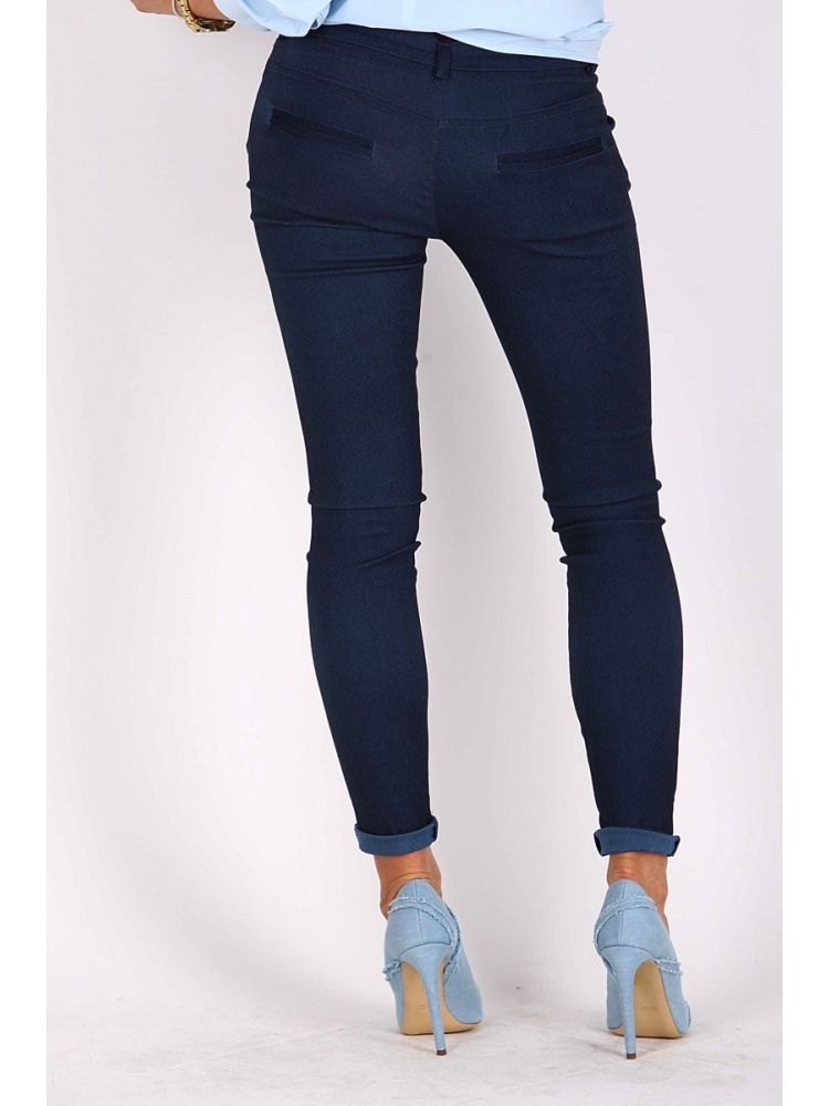 PLEASE JEANS P975DO25 CHINOSY